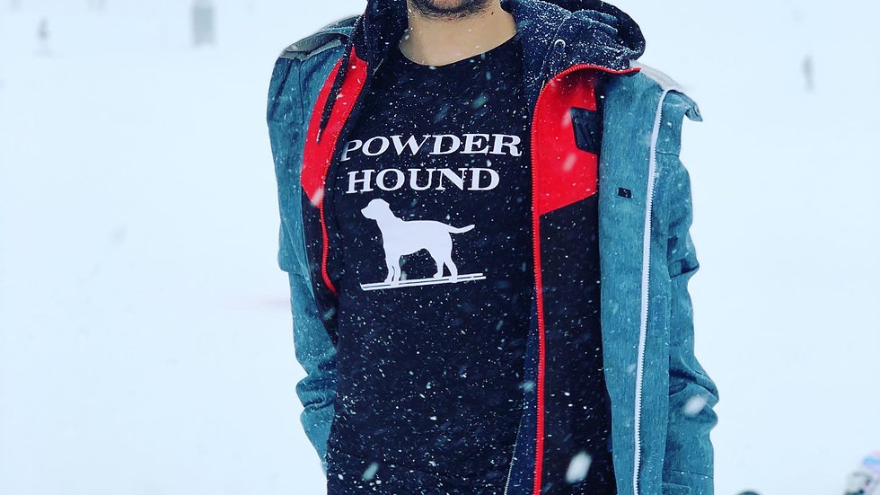 Powder hound T Shirt