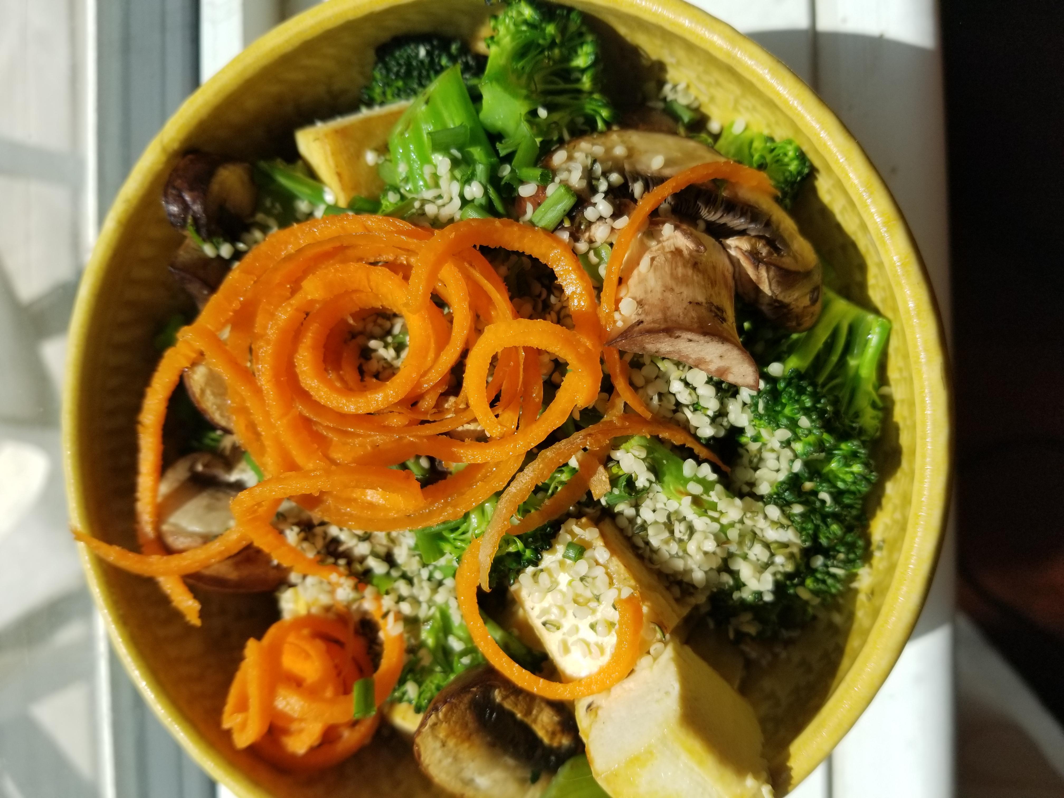 Roasted Tofu & Vegetable Bowl