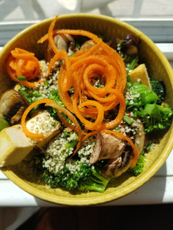 Roasted Tofu & Vegetable Bowl
