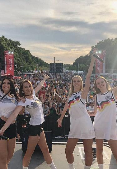 Auftritt Lichtblick Fußball WM Berlin