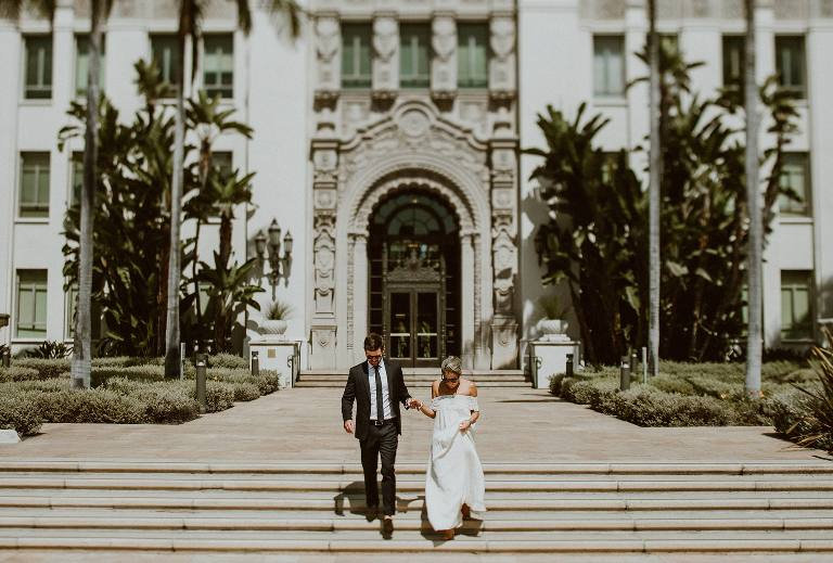 Beverly Hills Elopement Package I Brushy Creek Events
