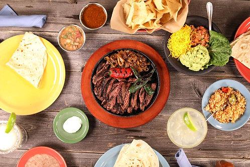 Mixed Fajita Dinner