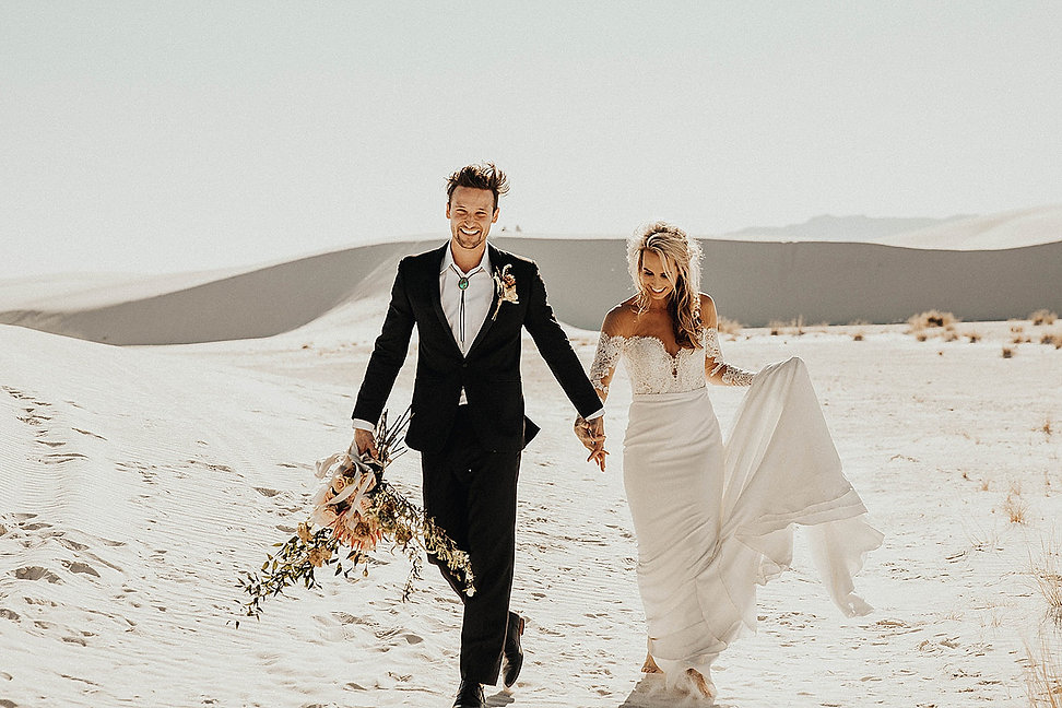 White Sands Elopement Package I Brushy Creek Events