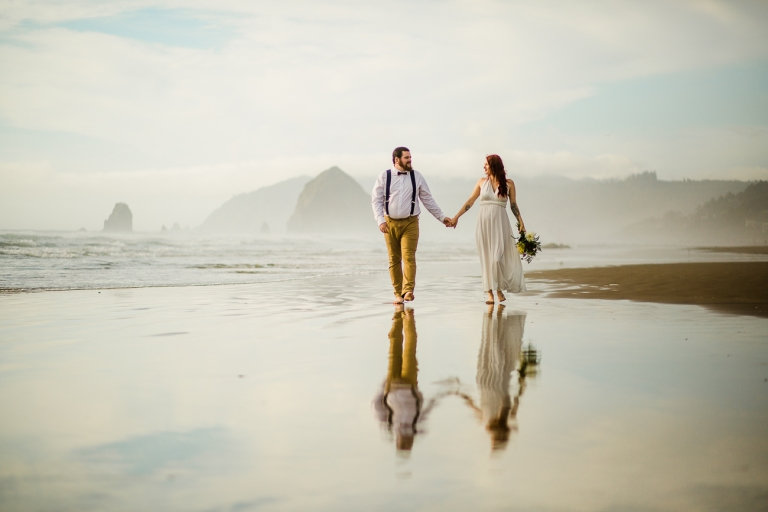 Cannon Beach Elopement I Brushy Creek Events