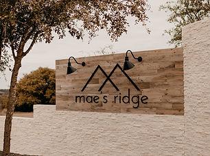Maes Ridge I Brushy Creek Events