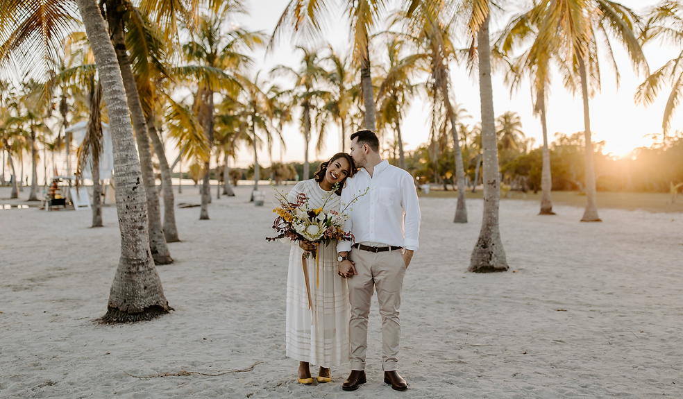 Miami Elopement Package I Brushy Creek Events