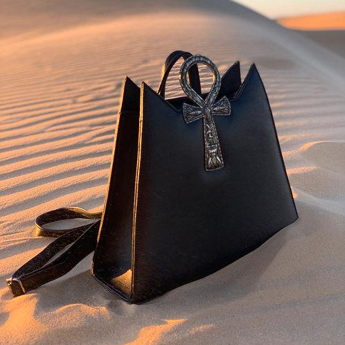 Ankh backpack Gold/black