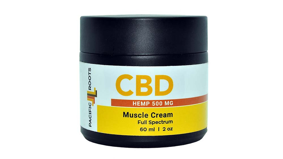 2oz 500mg Full Spectrum CBD Pain Cream