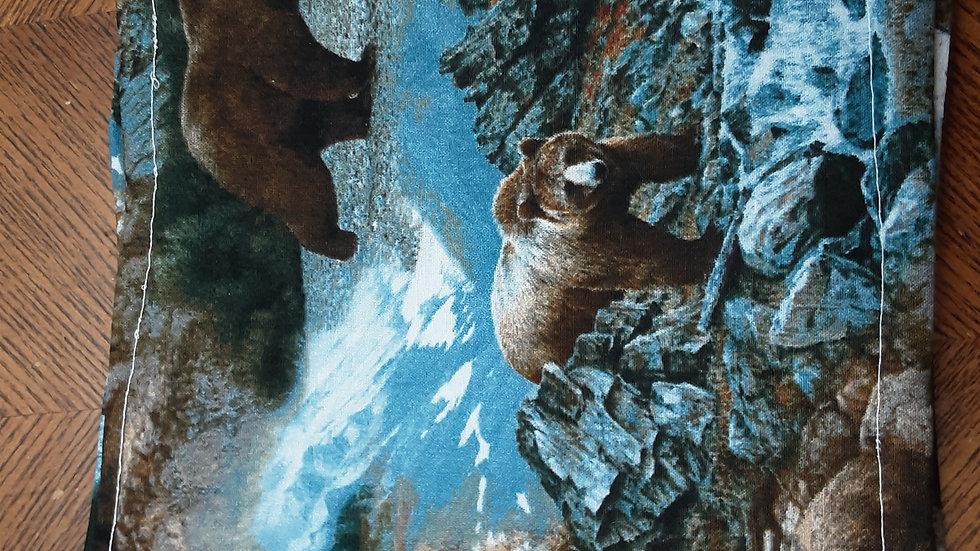 Bears in the Wilderness Pot Holders