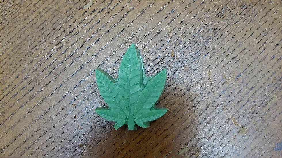 Marijuana leaf shea  butter soap