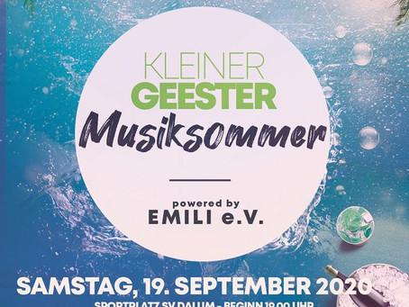 +++Kleiner Geester Musiksommer+++KOSTENLOSES Konzert am Dalumer Sportplatz+++