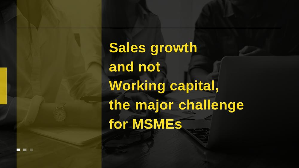 MSME, SME, Sales, Sales Growth, Working Capital, Bharatcraft, TechSaksham