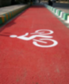 bicycle lane demarcation lucknow