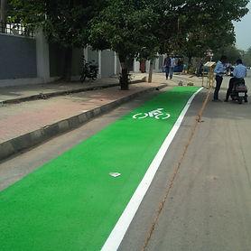 bicycle lane/path