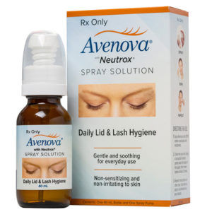 avenova spray lid scrubs
