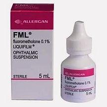 fml, fluorometholone, allergan, topical steroid