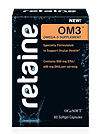 Retaine OM3 omega 3 supplements