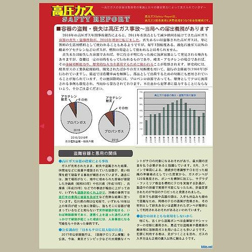 セーフティーレポート(容器の盗難・紛失)20pcs