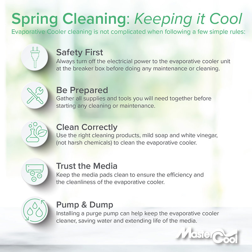 Spring Cleaning Evaporative Coolers Grap