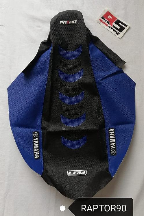 Funda Asiento LCM Antideslizante Raptor 90 Negro Azul Azul