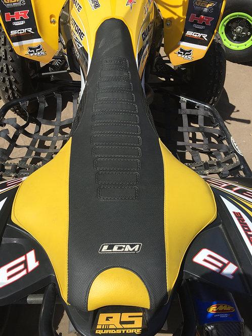 Funda asiento antideslizante LCM Yamaha YFZ450r Negro Amarillo