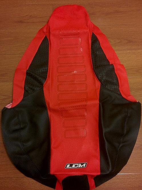 Funda asiento antideslizante LCM Yamaha YFZ450R Rojo Negro