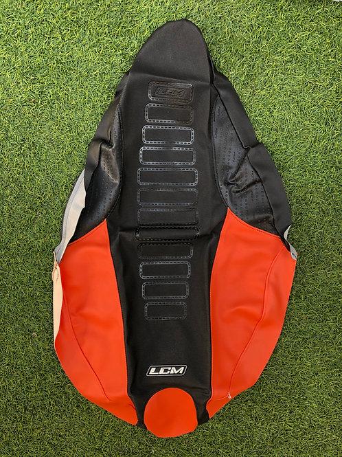 Funda asiento antideslizante LCM Yamaha YFZ450R Negro Naranjo