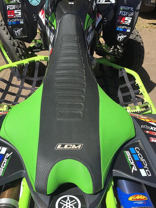 Funda asiento antideslizante LCM Yamaha YFZ450R Negro Verde
