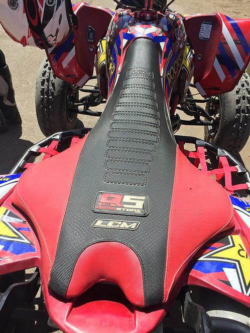 Funda asiento antideslizante LCM Yamaha YFZ450R Negro Rojo