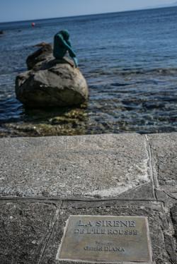La célèbre sirène d'Ile Rousse