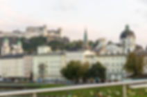Blick auf die Salzburg