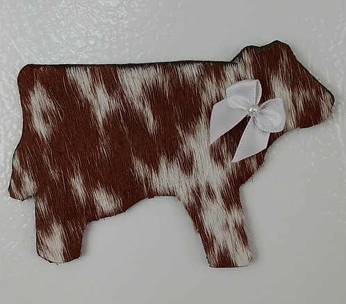 Cowhide Magnets=Longhorn