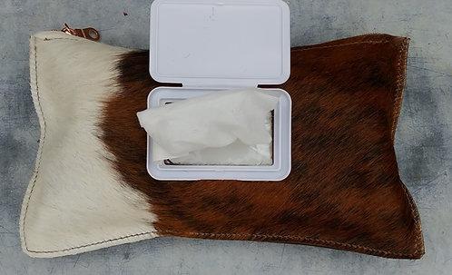 Cowhide Wipe Cases - Dark Brindle