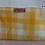 Thumbnail: Vintage Wool Makeup Bags- Yellow Plaid