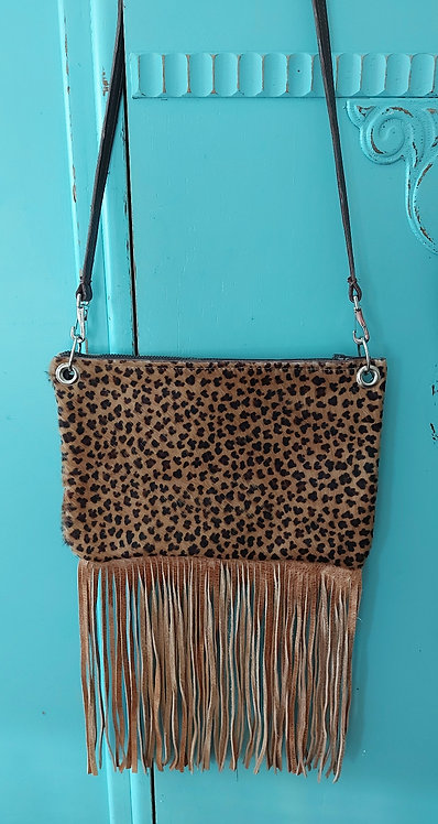 Hailey Bag- Crossover-Baby Leopard