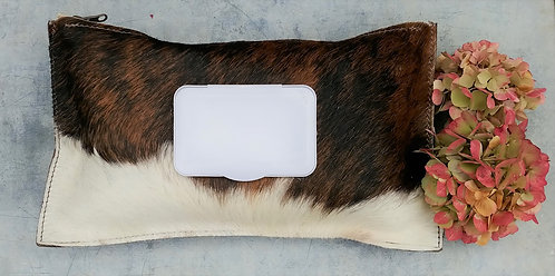 Cowhide Wipe Cases - Dark Brindle #2