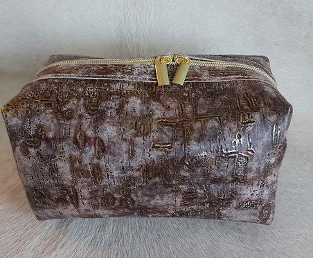 Large Makeup Bag- Driftwood