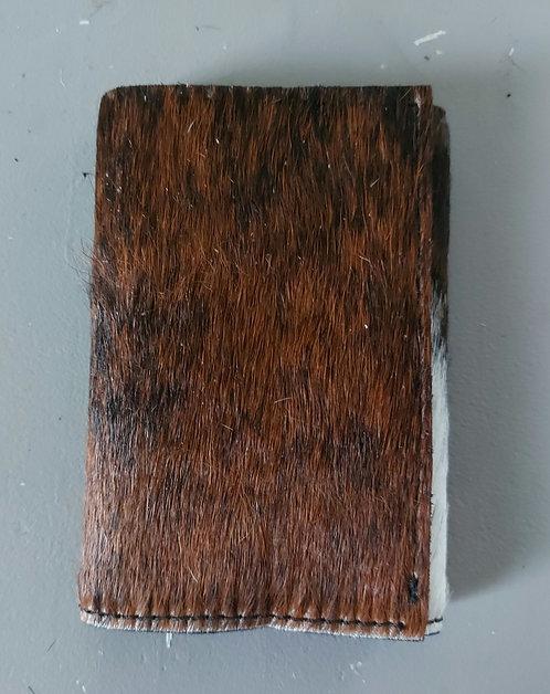 Tri Fold Wallet -Brindle