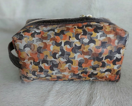 Large Makeup Bag-Sunset Acid