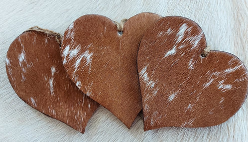 Double Sided Heart- Longhorn