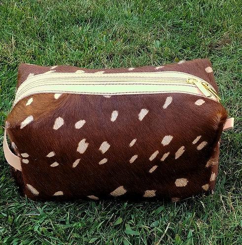 Large Makeup Bag- Alix Deer Print