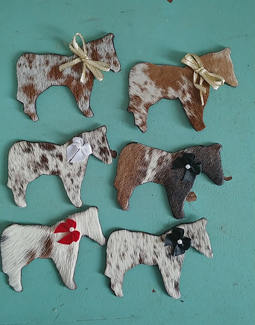 Horse Magnets-Brown and White