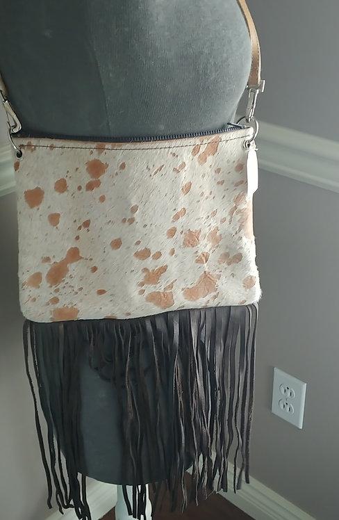 Hailey Bag- Crossover-Devore Hide