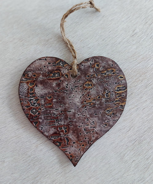 Double Sided Driftwood  Heart