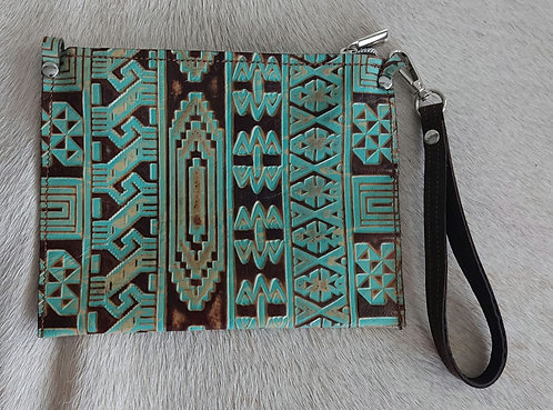 Med Catch All -Aztec Turquoise