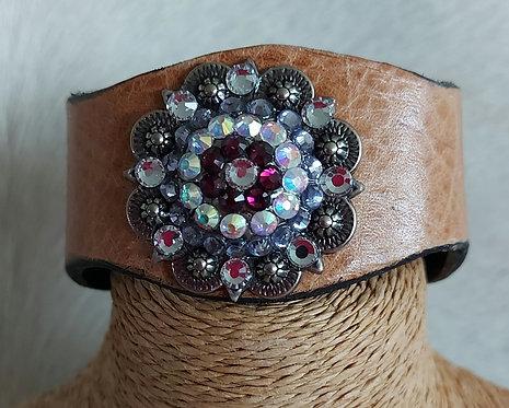 Leather Bracelet-tan