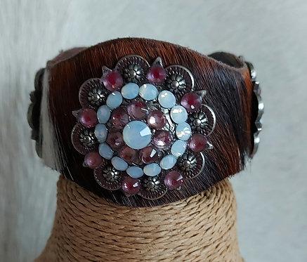 Cowhide Bracelet- Brindle