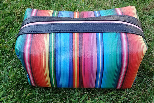 Large Makeup Bag -Serape