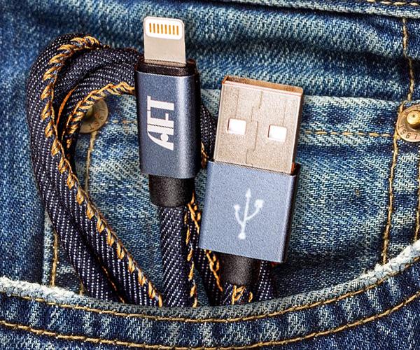 Denim Lightning Cable