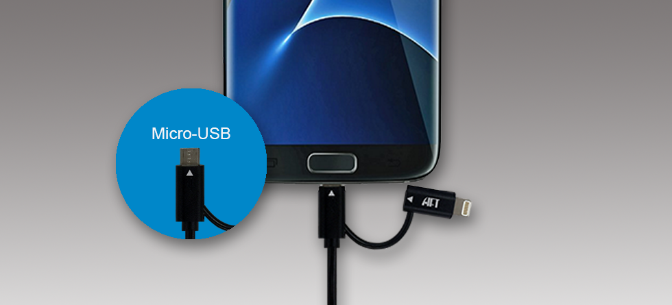 2-in-1 Kiosk Smart Cable